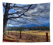 Cades Cove Lane Tapestry