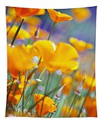 California Poppies Tapestry