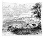 California: Vallejo, 1852 Tapestry