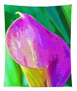 Calla Lily Art  Tapestry