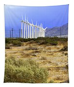 Calm Wind Palm Springs Tapestry