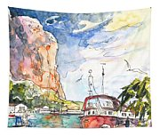 Calpe Harbour 04 Tapestry