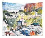 Calpe Harbour 05 Tapestry