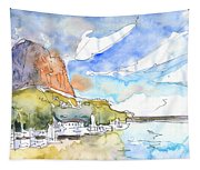Calpe Harbour 06 Tapestry