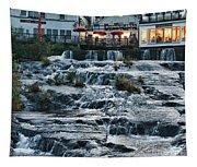 Camden Maine Waterfalls Tapestry