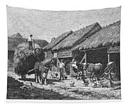 Canada: Farming, 1883 Tapestry
