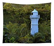 Canal Lighthouse - Panama Tapestry