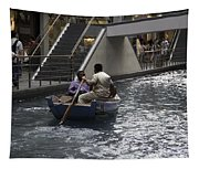 Canal Running Through The Length Of The Shoppes Running Under Th Tapestry