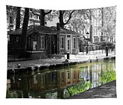 Canal Saint Martin Tapestry