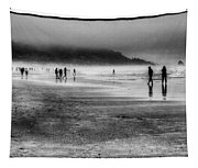 Cannon Beach Fog Tapestry