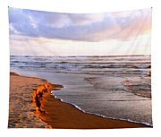 Cannon Beach Painting Tapestry