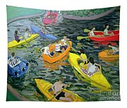 Canoes Tapestry