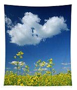 Canola Flowers, Marquette, Manitoba Tapestry
