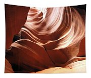 Canyon Waves Tapestry