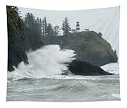 Cape Disappointment Lighthouse Tapestry