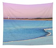 Cape May Light House Panorama Tapestry