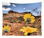 Capitol Flowers Tapestry