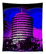 Capitol Records Building Tapestry