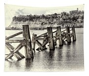 Cardiff Bay Old Jetty Supports Opal Tapestry