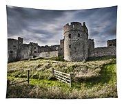 Carew Castle Pembrokeshire Long Exposure 2 Tapestry
