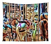 Carousel 7 - Fractals Tapestry