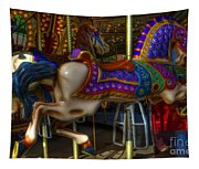 Carousel Beauties Going Away Tapestry