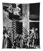 Carriage Cartoon, 1776 Tapestry