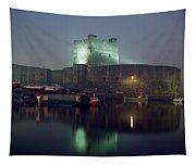 Carrickfergus Castle & Harbour, Co Tapestry