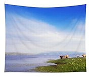 Carrowmore Lake, Co Mayo, Ireland Tapestry