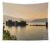 Castle Cannero On Lake Tapestry