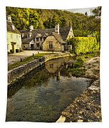Castle Combe Bridgeside Tapestry