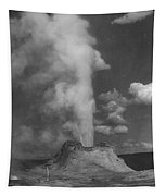Castle Geyser Yellowstone Tapestry