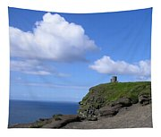 Castle On The Cliffs Of Moher Tapestry