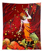 Catching Crocodile Tears Tapestry