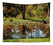 Catching Frogs Tapestry