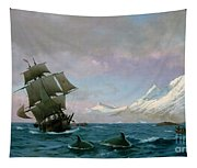 Catching Whales Tapestry