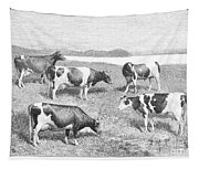 Cattle, 1888 Tapestry