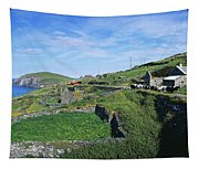Cattle On The Road, Slea Head, Dingle Tapestry