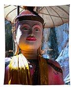 Cave Buddha Tapestry