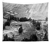 Cemetery And Pastures Tapestry