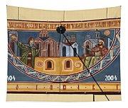 Ceramic Sundial Tapestry