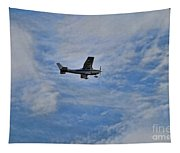 Cessna In Flight Tapestry