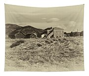 Chaffee County Poor Farm Print Tapestry