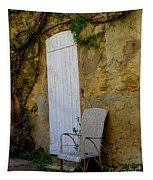 Chair By The White Door Tapestry