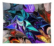 Chaotic Visions Tapestry