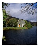 Chapel At Gougane Barra, Co Cork Tapestry