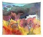 Chapel On Planet Goodaboom Tapestry