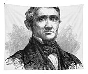 Charles Goodyear /n(1800-1860). American Inventor. Line Engraving, 19th Century Tapestry