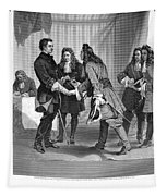 Charles Xii And Stanislas I Tapestry