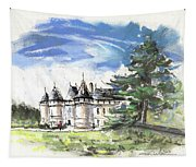 Chateau De Chaumont In France Tapestry